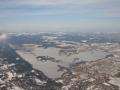 Winterflug zum Wendelstein